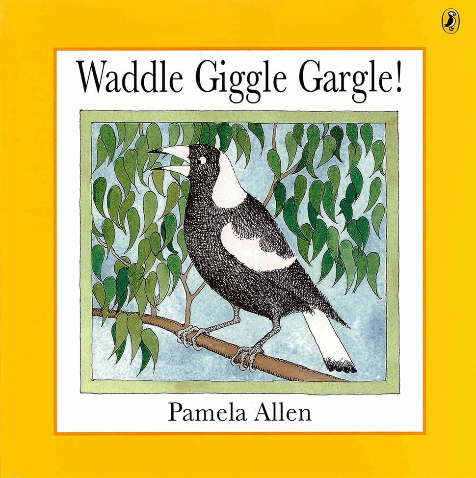 Book cover - Waddle Giggle Gargle