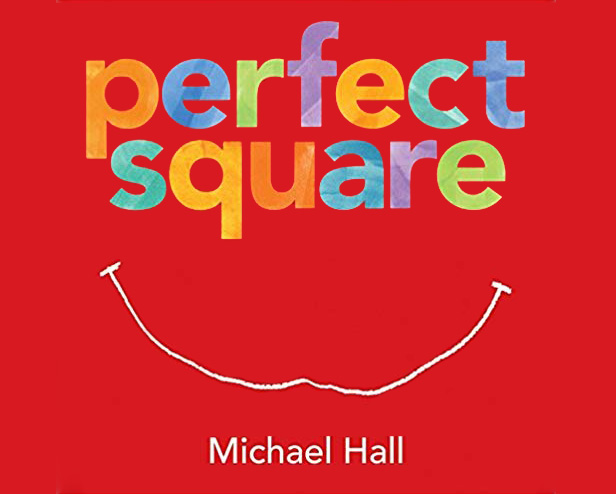 Picture book - Perfect square by Michael Hall