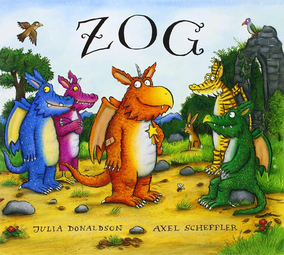 Picture book: Zog by Julia Donaldson and Axel Scheptler