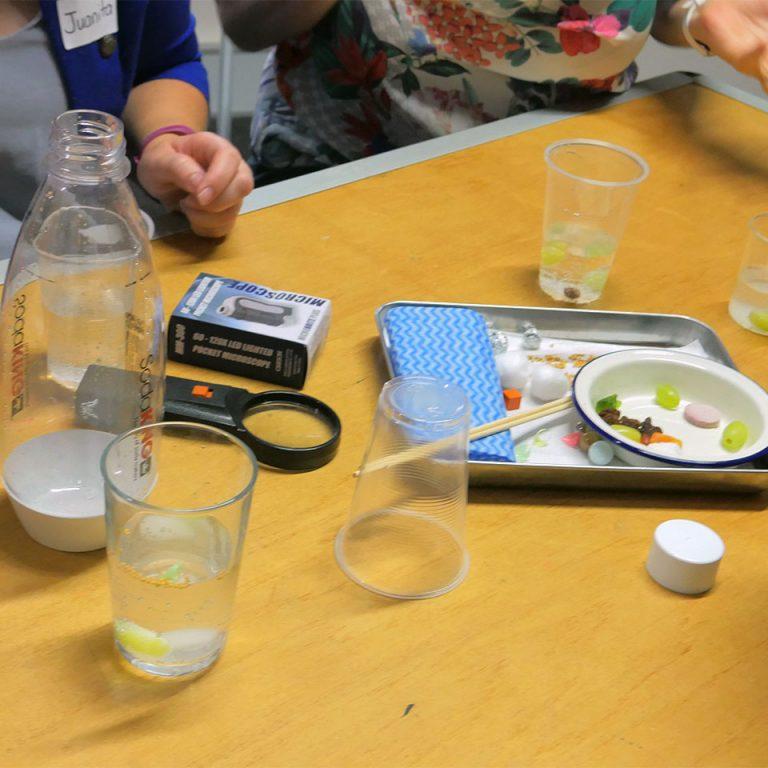 Chemical reactions workshop activity