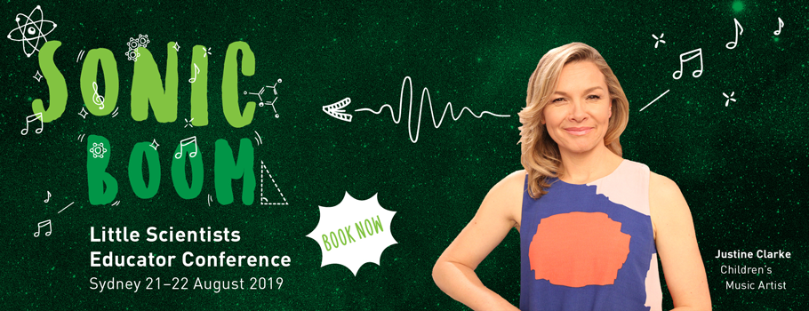 Sonic Boom Educator conference with Justine Clarke