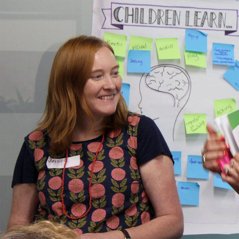 How do 'Children Learn' poster