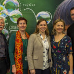 Lisa Harvey-Smith, Justine Clarke and Little Scientists team