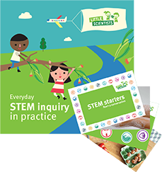 Stem book and cards