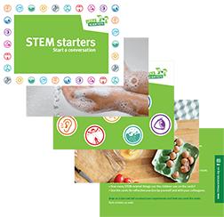 STEM starter cards