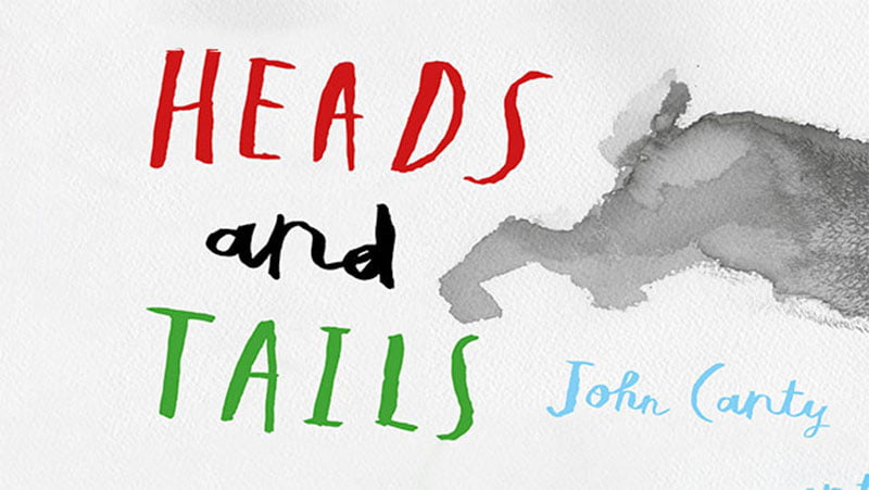 Book cover: Heads and Tails by John Canty
