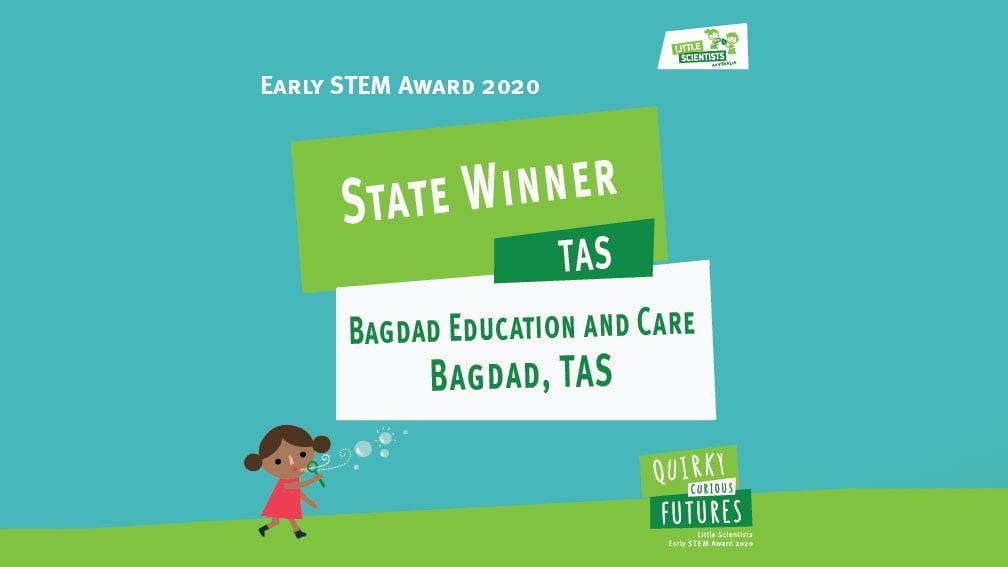 TAS award winner