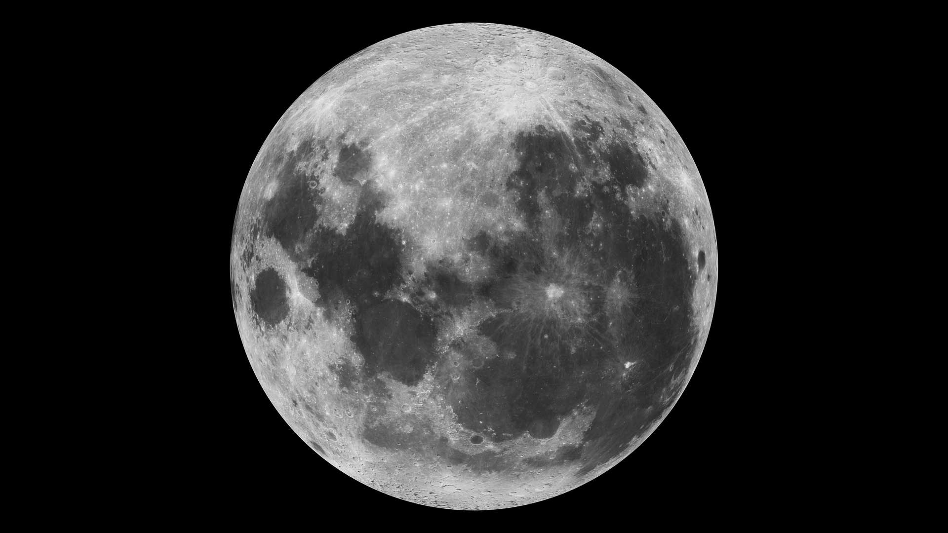 Moon as perceived in the southern hemisphere