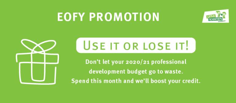 EOFY promotion