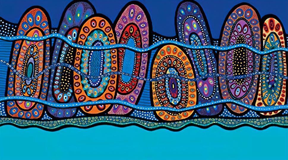 Indigenous artwork