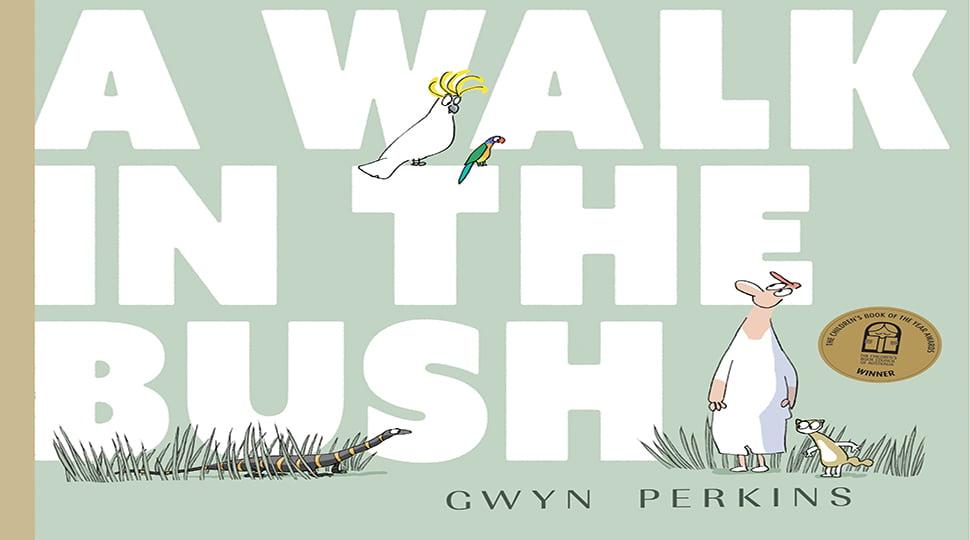 A walk in the bush book cover edited