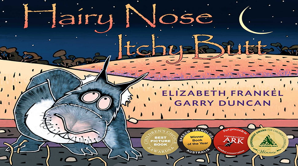 Hairy nose, itchy butt book cover