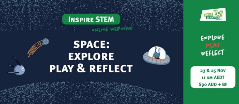 Explore space: Play Reflect