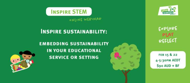 Inspire sustainability