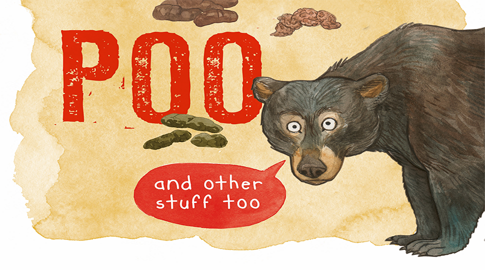 The clue is in the poo book cover